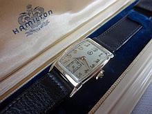 1941 Hamilton Donald Wristwatch Armstrong Cork Co Presentation Watch 19j 982 Grade Movement