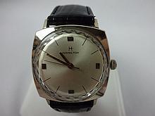1966 Hamilton Boatswain III Wristwatch Rare Crystal Facet Ring Swiss Movement