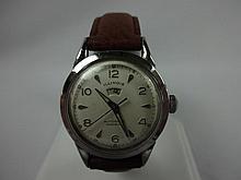 1953 Illinois Automatic Incabloc Signamatic Wristwatch Swiss Movement