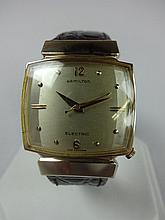 1959 Hamilton Vantage Electric Wristwatch 500A Movement