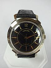 1957 Hamilton Titan Electric Wristwatch with Black Dial