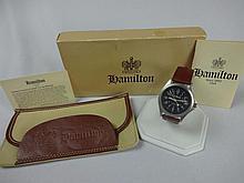 Hamilton LL Bean Quartz Nylon Military Strap