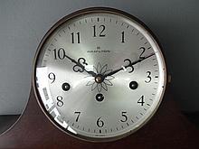 Hamilton mantel clock. Napoleon case style.