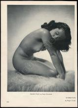 ELIZABETH TAYLOR 1950s-70s ONE OF A KIND NUDE FIGURE STUDY & MORE