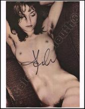 MADONNA 1980s-2010s SIGNED PHOTOS (x10) W/ NUDE & TOPLESS