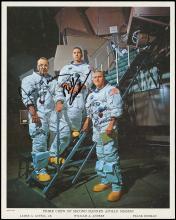 1968 APOLLO 8 CREW SIGNED NASA LITHO