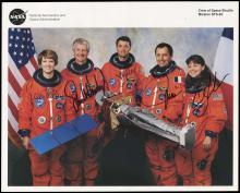 STS-93 1999 CREW SIGNED NASA LITHO