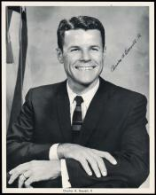 1963 CHARLES A BASSETT II SIGNED PHOTO