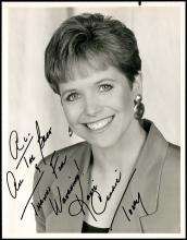 1990s WOMEN TV & RADIO NEWS BROADCASTERS AUTOGRAPHED PHOTOS (2-VOLS)