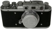 1950s GERMAN LUFTWAFFE LEICA CAMERA IN LEATHER CASE