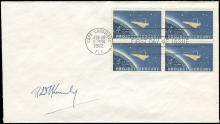 ROBERT KENNEDY AUTOGRAPH ON 1962 PROJECT MERCURY FDC