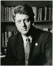 1990s BILL CLINTON SIGNED PHOTO