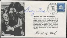 1936-1980s FIRST LADIES' FREE FRANKS AND AUTOGRAPHS