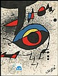 JOAN MIRO 1980 PEACE-KEEPING LIMITED EDITION LITHO