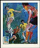 LEROY NEIMAN 1988 LIMITED EDITION WFUNA 'HEALTH IN SPORTS' PRINT