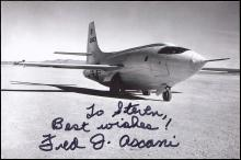1950s SCOTT CROSSFIELD & OTHER X-1 TEST PILOT AUTOGRAPHS