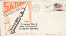 1964 SATURN SA-5 & SA-6 LAUNCH COVERS, PAFB