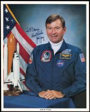 1981 STS-1 CREW SIGNED LITHOS