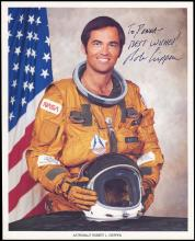 1981 STS-1 BOB CRIPPIN SIGNED LITHOS (x4)