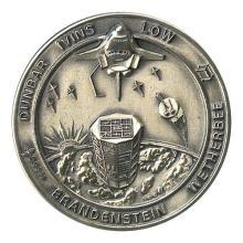 1990 STS-32 SILVER ROBBINS MEDALLLION #128