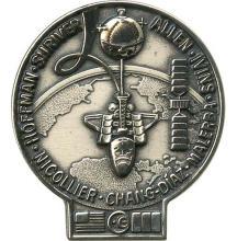 1992 STS-46 SILVER ROBBINS MEDALLION #113