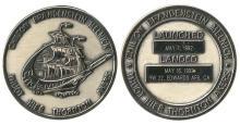 1992 STS-49 SILVER ROBBINS MEDALLION #106