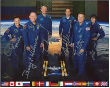 EXPEDITION 42 2014 CREW AUTOGRAPHED PHOTO