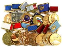1970s-2000s RUSSIAN SPACE MEDALS (x13)