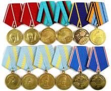 1970s-2000s RUSSIAN SPACE MEDALS (x12)