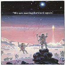 1995 RAY BRADBURY SIGNED PROGRAM, GODDARD AWARD W/PHOTOS