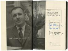 2005 RAY BRADBURY & SAM WELLER SIGNED BOOK