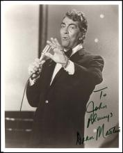 1950s-80s MALE MUSICIANS AUTOGRAPHED PHOTOS