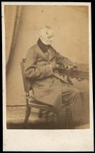 1860s WILLIAM APPLETON, NOTED PUBLISHER, ON PHOTO
