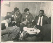 1960s GROUP OF ORIGINAL MARTIN LUTHER KING-RELATED PHOTOS (x11)