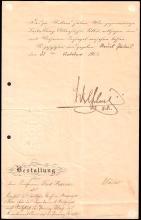 1903 KAISER WILHELM II SIGNED DOCUMENT & MORE