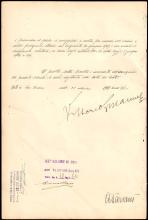 1925-39 ROYAL DECREES SIGNED BY KING VICTOR EMMANUEL III OF ITALY