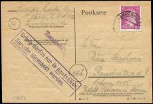 1945 LETTER FROM INMATE AT CONCENTRATION CAMP