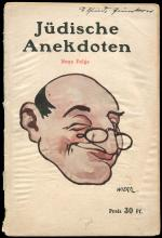 1913 EARLY ANTI-SEMITIC GERMAN BOOK