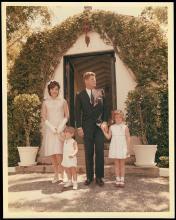 1960s JFK FAMILY PHOTO
