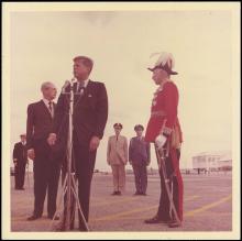 1962-63 JFK AT WORK PHOTO GROUP (x25)