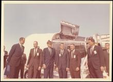 1962-63 JFK VISITING SPACE FACILITY (x22)