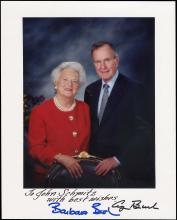 1970s-90s PRESIDENT AND FIRST LADY AUTOGRAPHED ITEMS