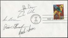 1994 STS-62 CREW SIGNED COVER