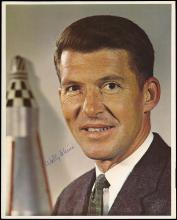 1962-89 NASA CONSIGNMENT BALANCE W/ AUTOGRAPHS