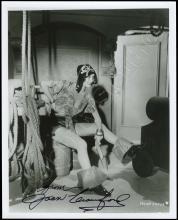 JOAN CRAWFORD 1926 AUTOGRAPHED PHOTO W/ SILVER GELATIN