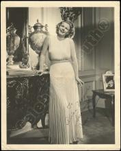 JEAN HARLOW 1930s SILVER GELATINS & 'MAMA JEAN' SIGNED PHOTOS (x5)