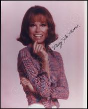 MARY TYLER MOORE SHOW 1970s FEMALE CAST SIGNED INDIVIDUAL PHOTOS (x10)