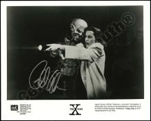 X-FILES DAVID DUCHOVNY & GILLIAN ANDERSON 1990s-2000s SIGNED PHOTOS (x15)