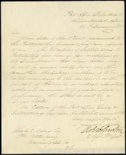 1841 ROBERT JOHNSTON ASST POSTMASTER GENERAL HANDWRITTEN LETTER TO WATERBURY, VT