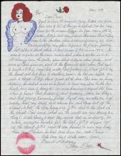 1996 BLAZE STARR 'CLOSET QUICKIE' W/ CANDIDATE JOHN F. KENNEDY
